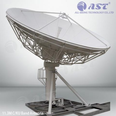 AST 11.3 meter fixed antenna
