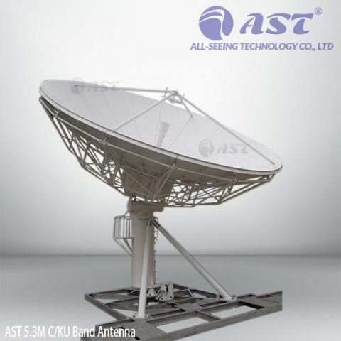 AST 5.3 meter fixed antenna