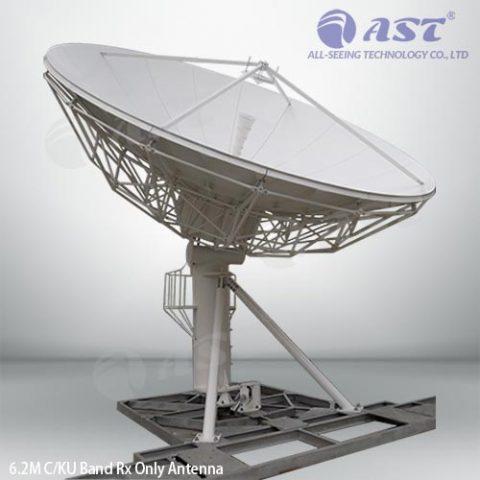 6.2m TVRO antenna