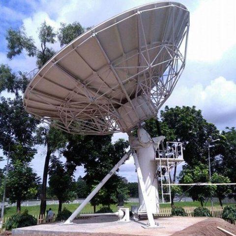 AST 7.3 meter fixed antenna