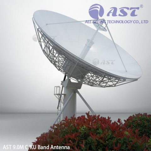 AST 9.0 meter fixed antenna