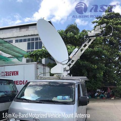 1.8m VEHICLE MOUNT (SNG) ANTENNAS