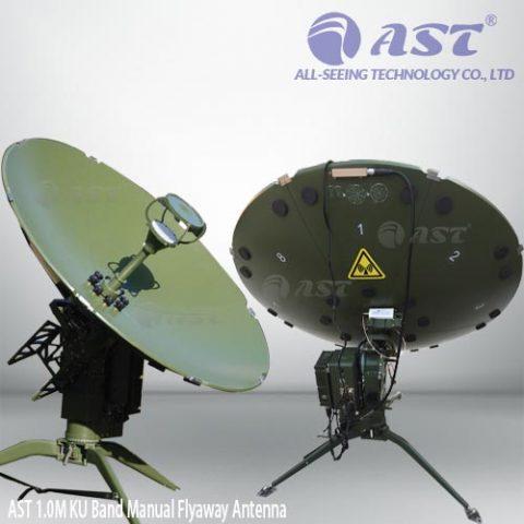 FA100-A 1.0m anto flyaway antenna