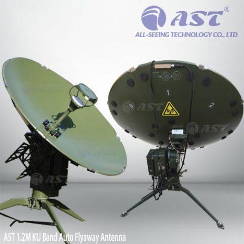 FA120-AK 1.2M auto flyaway antenna