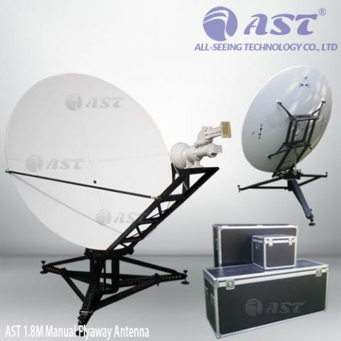 1.8m flyaway antenna