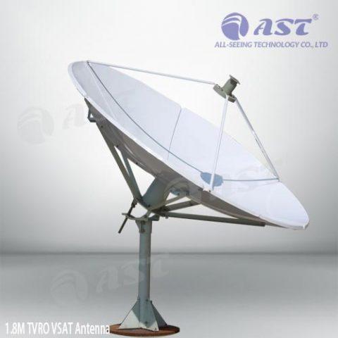 1.8m TVRO antenna